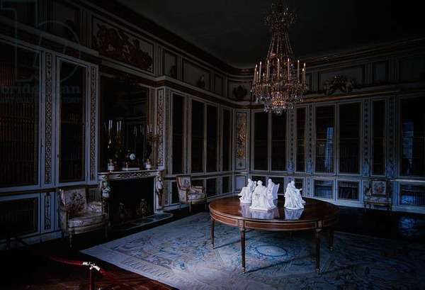 The Library of Louis XVI (photo)