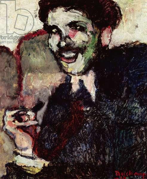 Portrait of Dr Ferdinand Tribout, 1910 (oil on cardboard)