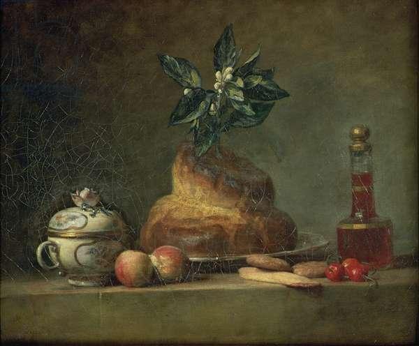 The Brioche or The Dessert, 1763 (oil on canvas)