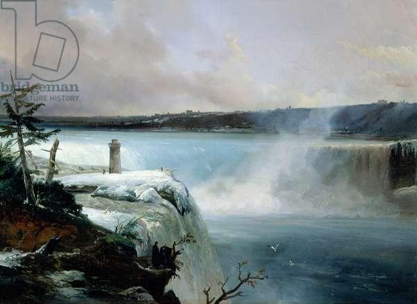 Niagara Falls, c.1837-40 (oil on canvas)