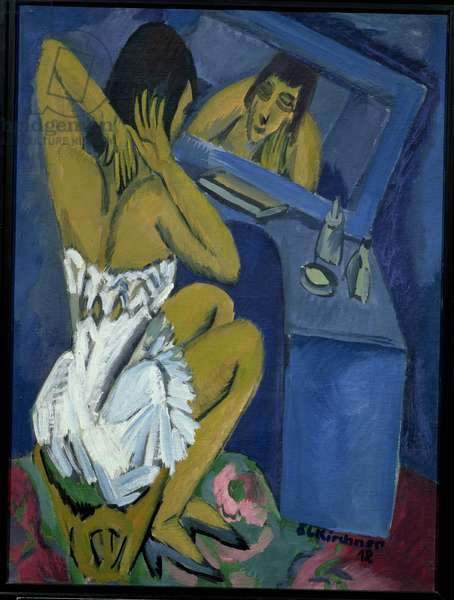 Woman before the Mirror, 1912 (oil on canvas)