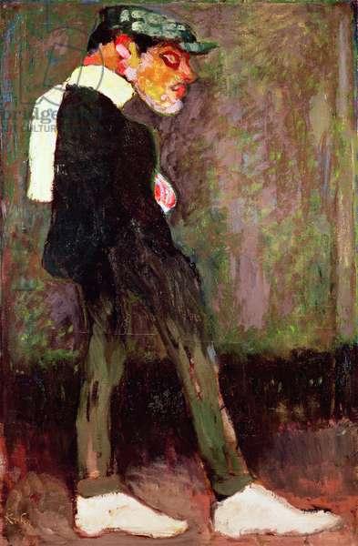 The Pimp, 1910 (oil on canvas)