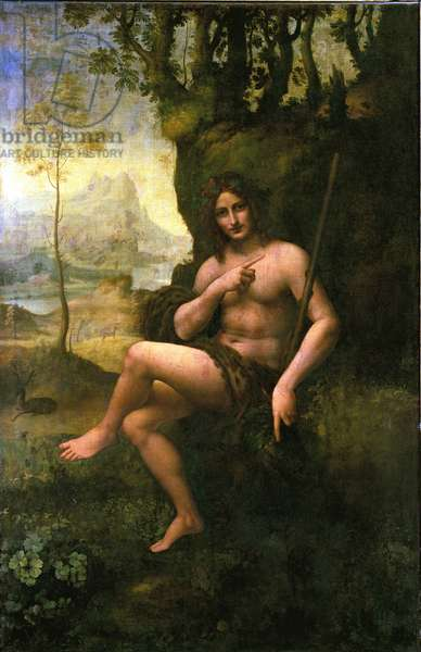 Bacchus, c.1695 (oil on canvas)