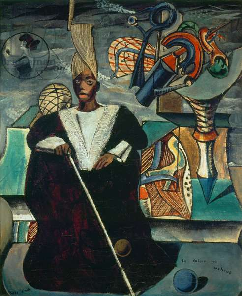 The Emperor of Wahaua, 1920 (oil on canvas)