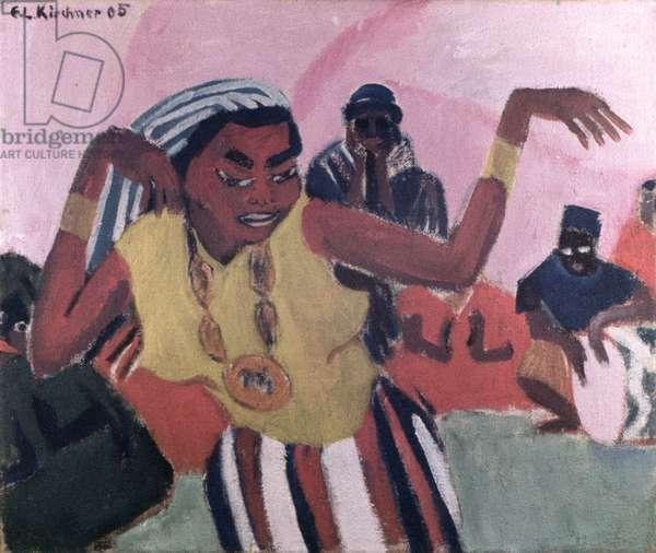 Black Dancer, 1909 (oil on canvas)