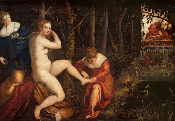 Susanna and the Elders (oil on canvas)