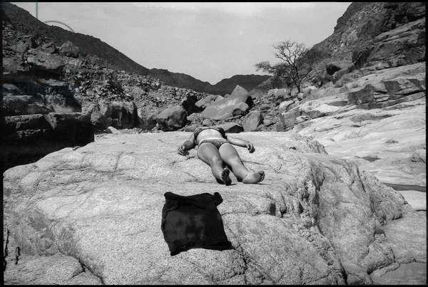 Sinai Desert  (b/w photo)