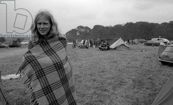 Stonehenge, UK, 1977  (b/w photo)
