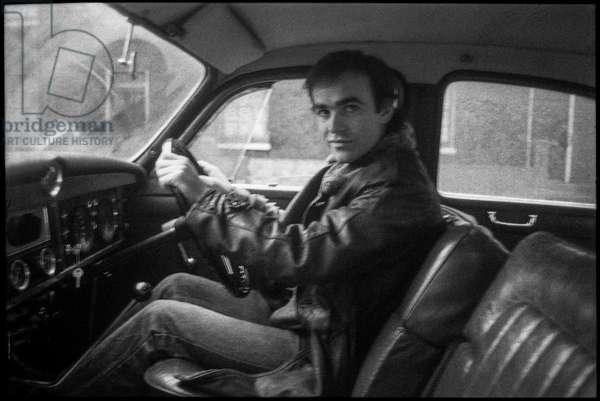 Nick Broomfield, 1978  (b/w photo)