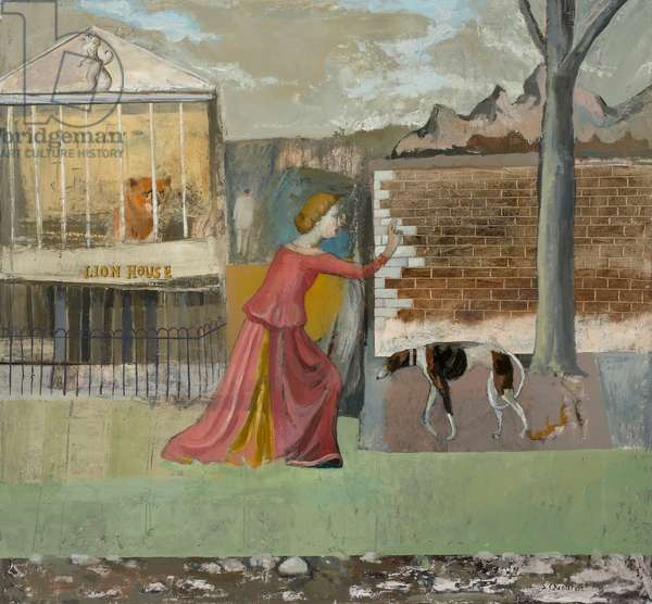 Annunciation at the Lion House, 2005 (oil on canvas)