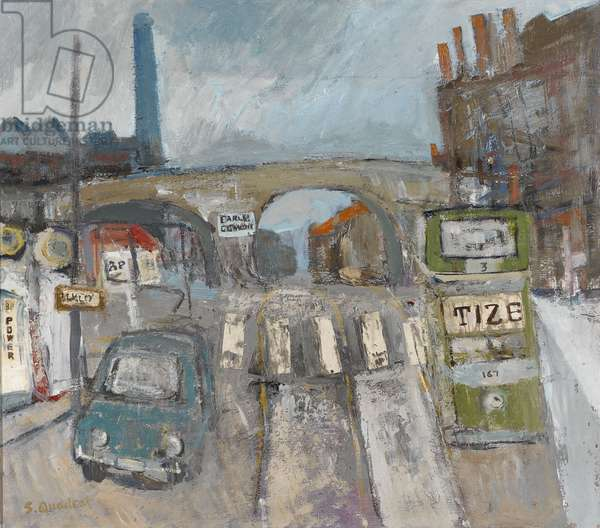 The Crossing, 2002 (oil on canvas)