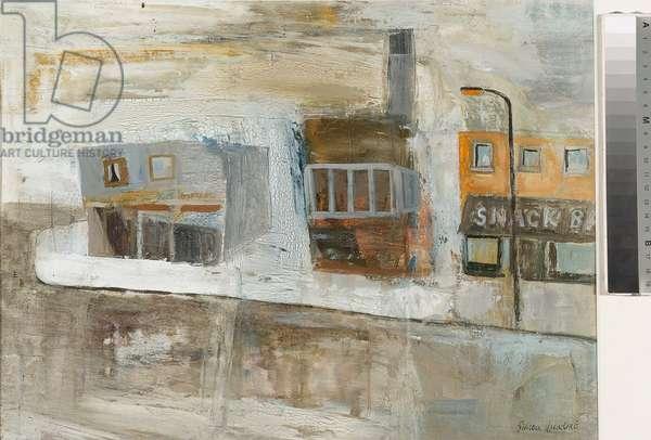 Snack Bar, 2004 (oil on paper)