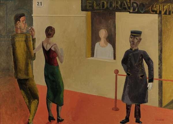 Cinema Eldorado, 2017 (oil on canvas)