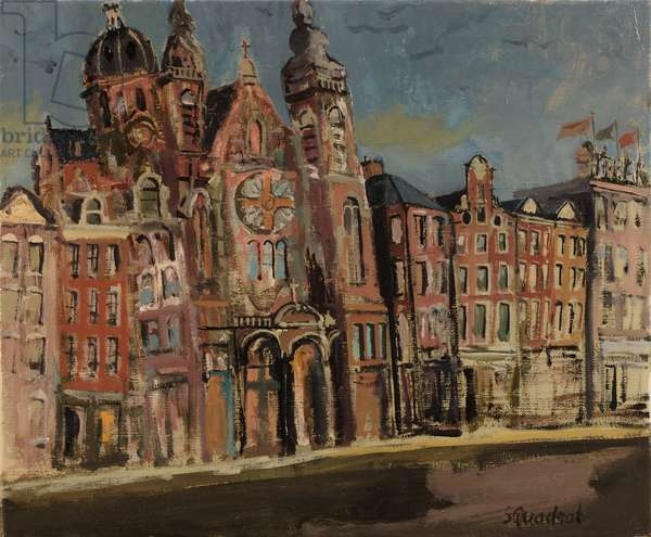 St Nicolaas Amsterdam, 2017 (oil on canvas)