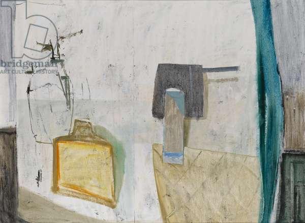 Still Life with Saucepan, 2002 (oil on canvas)