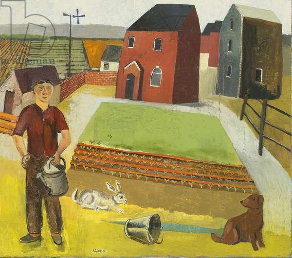 The Gardener, 2008 (oil on canvas)