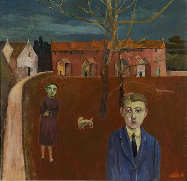 Incident at Night, 2012 (oil on canvas)