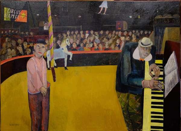 Circus Hamel, 2018 (oil on canvas)