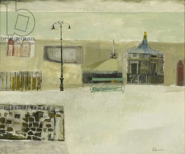 Seafront, 2011 (oil on canvas)