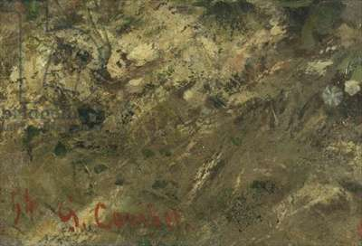 The Meeting or Bonjour M. Courbet (detail)