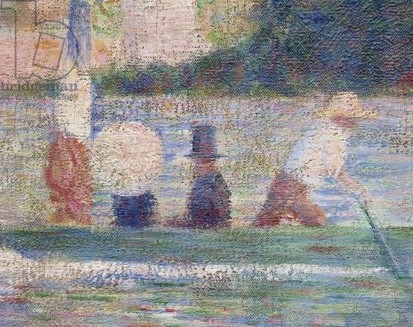 Bathers at Asnieres, 1884 (detail of 2136)
