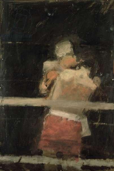 The Boxers (tempera)