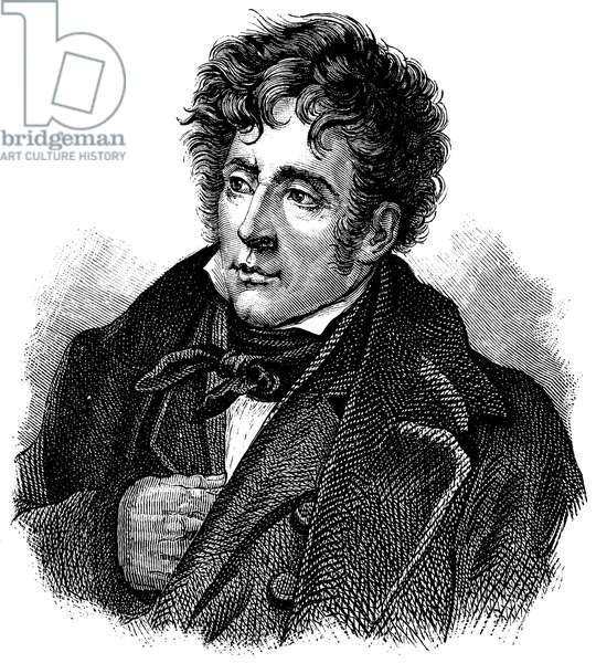 François-René de Chateaubriand (1768–1848), French writer, politician and diplomat
