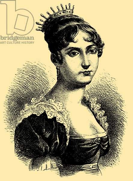 Hortense de Beauharnais (1783 – 1837), Queen Consort of Holland
