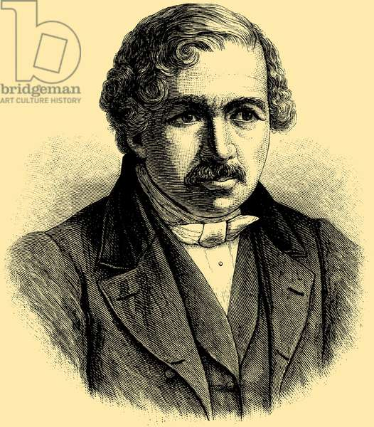Louis-Jacques-Mandé Daguerre (1787 – 1851), French artist and chemist