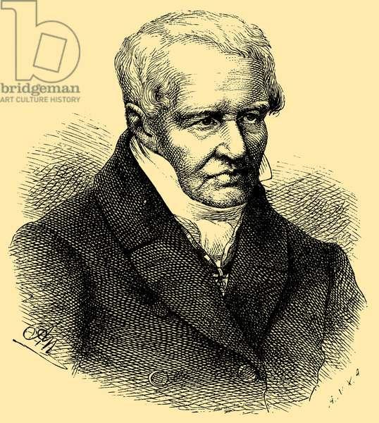 Alexander von Humboldt (1769–1859), German natural scientist