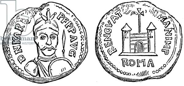 Security seal, coinded for the coronation of Charlemagne