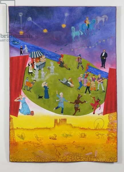 York 800 - A Celebration, 2012 (textile)