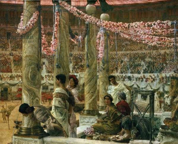 Caracalla and Geta, 1907 (oil on canvas)