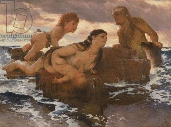 Sea Idyll, 1887