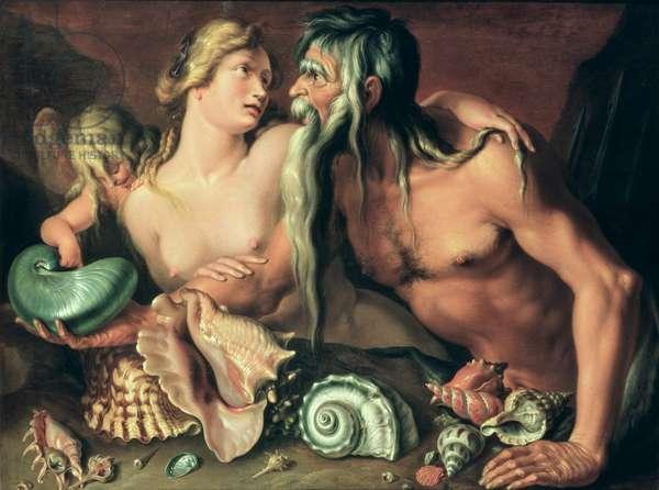 Neptune and Amphitrite (oil on canvas)