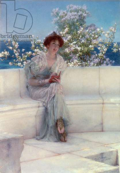 The Year's at the Spring, All's Right with the World, 1902 (oil on panel)