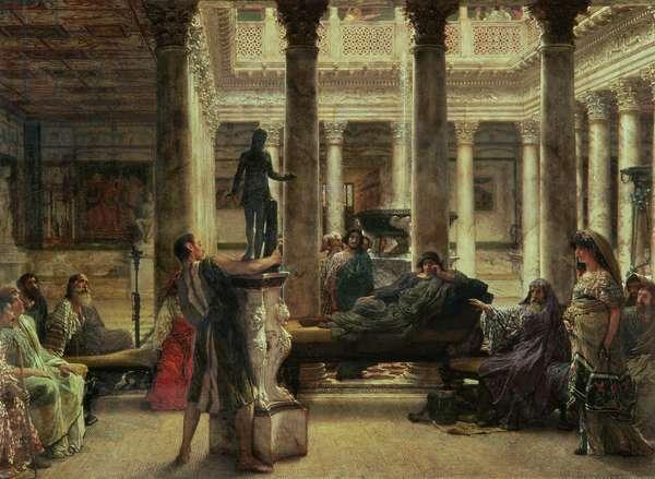 Roman Art Lover, 1870 (oil on canvas)