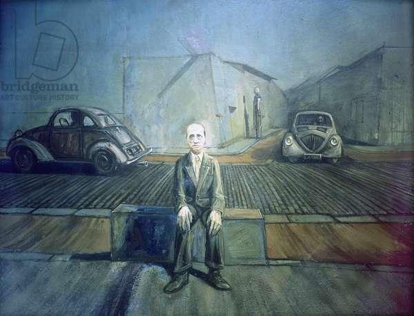 Luis Bunuel, 1958 (oil on canvas)