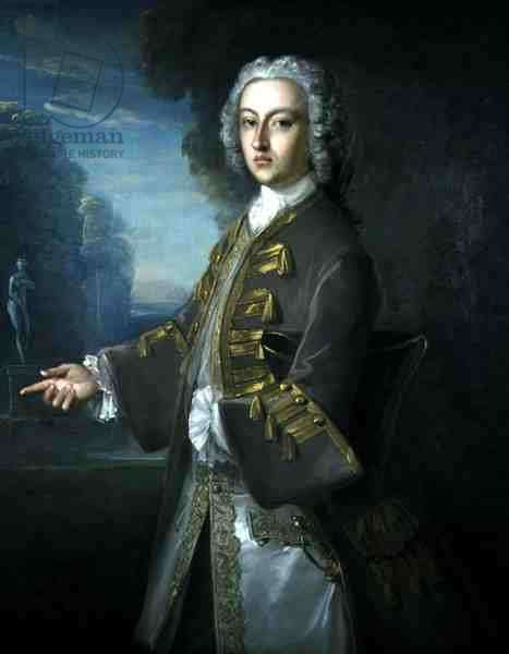 Portrait of Cosmo George, 3rd Duke of Gordon (oil on canvas)