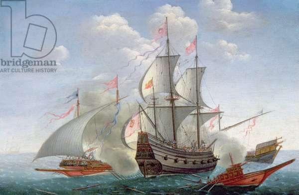 A Naval Engagement at Sea