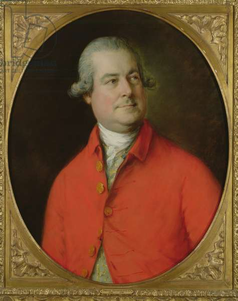 Portrait of Richard Ottley (1729-75)