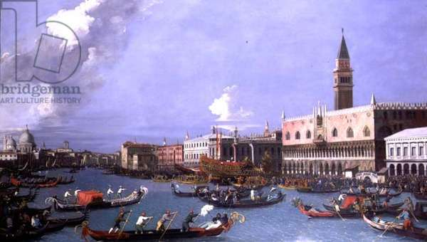 The Bucintoro returning to the Molo on Ascension Day, Venice