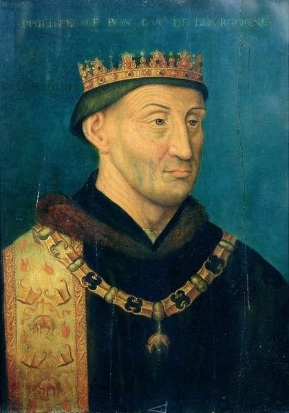 Portrait of Philip the Good, Duke of Burgundy, c.1500 (oil on panel)