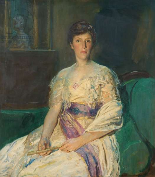 Mrs Julian Lousada, c.1920 (oil on canvas)