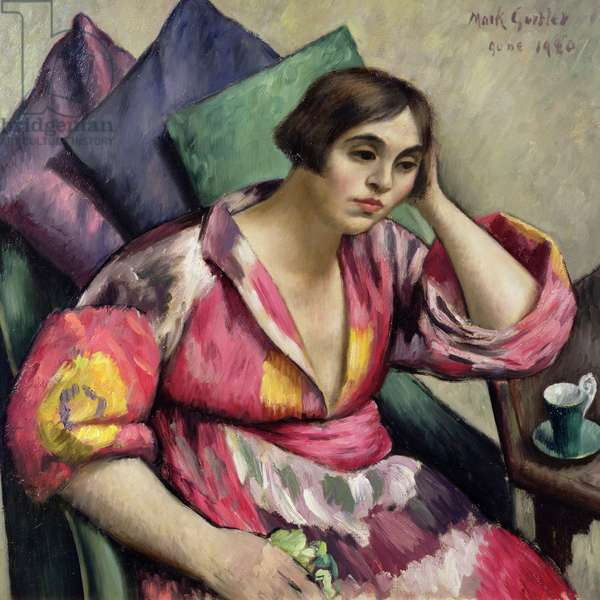 The Bokhara Coat, 1920 (oil on canvas)