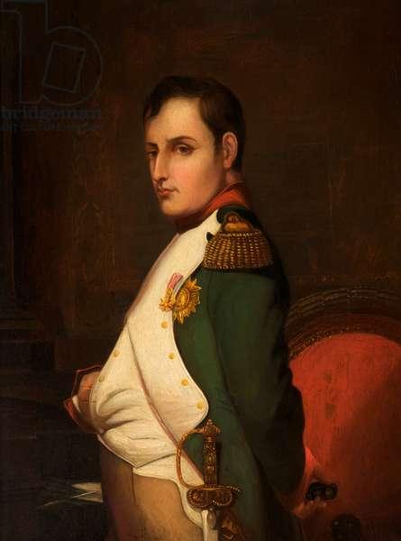 Napoleon Bonaparte (oil on wood)