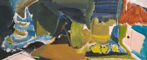 Open Terrace, 1958 (oil on canvas)