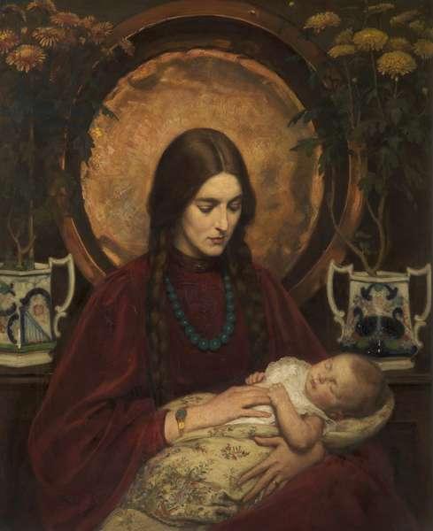 A Little Sleep, c.1906 (oil on canvas)