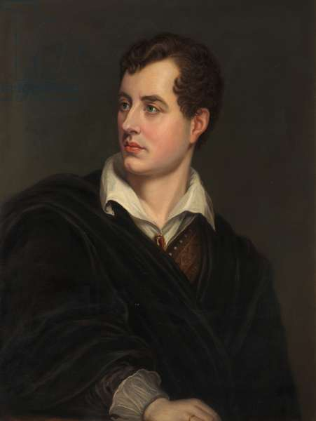 Lord Byron (oil on canvas)