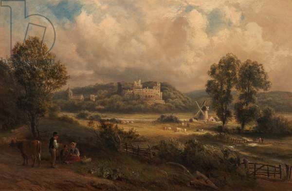 Arundel Castle, Sussex, 1890 (oil on canvas)